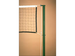 outdoor volleyball system with winch tomko sports