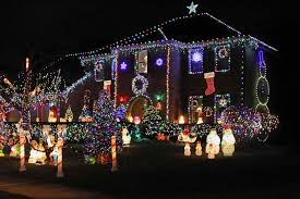 christmas light displays in phoenix old colored christmas lights sofa cope