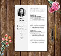 Professional Cv Template Resume Template 5 Pages Graduate Teacher Cv Template For Word