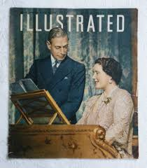 illustrated 24 april 1948 vintage magazine silver wedding of