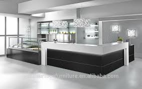Reception Desk With Display Commercial Modern Restaurant Glass Display Reception Desk Buy
