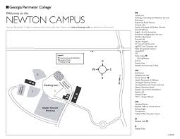 Gsu Campus Map Start Georgia Perimeter College