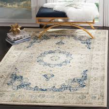 Area Rugs 6 X 10 Safavieh Evoke Gray Ivory 8 Ft X 10 Ft Area Rug Evk220d 8 The