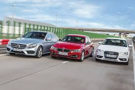 audi a3 vs bmw 3 series audi a4 ranks low in car and driver list