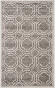Gray Indoor Outdoor Rug Rug Amt411c Amherst Area Rugs By Safavieh