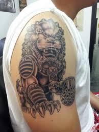 small foo dogs foo dog tattoo tattoo realistic tattoo i d like to