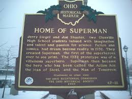 Berea Ohio Map by Noblemania Map Of Superman U0027s Cleveland