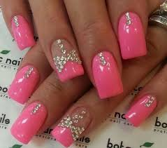 55 trendy bow nail art designs golfian com