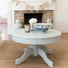 Pedestal Coffee Table Pedestal Coffee Table Farmhouse Furniture