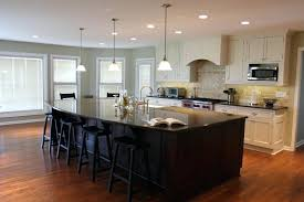 kitchen islands and bars oak kitchen island with breakfast bar