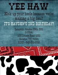 western party invitations u2013 gangcraft net