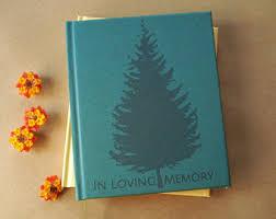 memorial book memorial book etsy