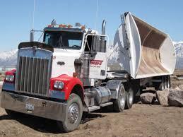 design a virtual house peterbilt dump trailer semi truck dump