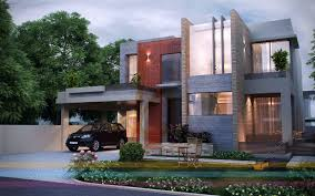 Home Design 3d Elevation by 3d Front Elevation Com Dha Lahore 1 Kanal Modern Contemporary