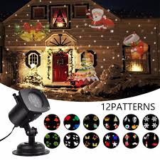 Light Flurries Snowflake Projector by Led Holiday Projector Best Holiday 2017