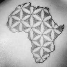 Africa Continent Map by 43 Latest African Continent Map Tattoos
