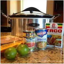 sweet little bluebird slow cooker shredded chicken tacos and burritos