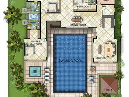 u shaped house plans with pool in middle florida house plans houses u shaped with pool in middle australia