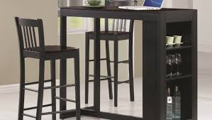 Large Bistro Table Bar Round Bar Table 3 Piece Pub Table Set Small Bistro Table