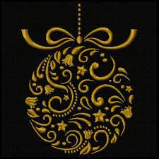 ornate ornaments machine embroidery design set