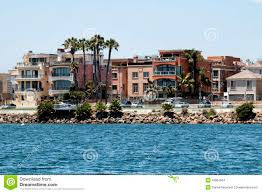 Beach Houses by California Beach Houses Stock Photo Image 42862654
