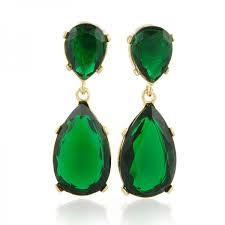 emerald earrings uk gold emerald teardrop earrings