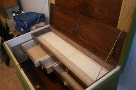 Woodworking Projects With Secret Compartments - a slightly fancier tool chest popular woodworking magazine