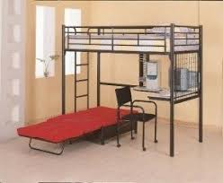 loft beds with desk and futon foter
