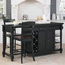 home styles kitchen island home styles grand torino kitchen island and 2 stools black