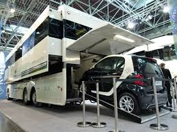 10 coolest car carrying motorhomes