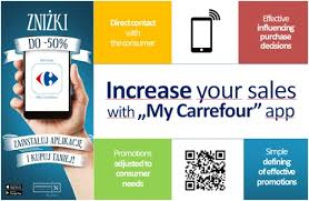 carrefour si e social epr retail carrefour poland launches free mobile app for its