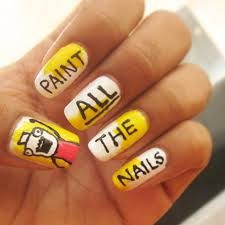 Nail Art Meme - meme nail art ideas popsugar beauty