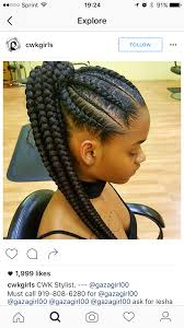hair braiding styles long hair hang back feed in braids corn rows ponytail black hair protective style