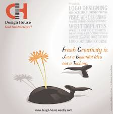 creativity never ends here call for fb advert designing logo