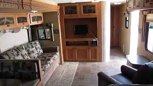 30 Foot Travel Trailer Floor Plans by 2012 Heartland North Trail 30 Rkdd Travel Trailer 2 Slides