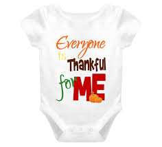 thanksgiving one baby onesie everyone is thankful