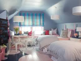 delightful bedroom ideas for teenage girls with light blue color