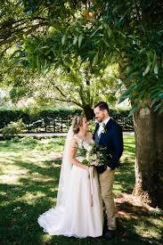 sweet garden picnic wedding at old parliament house polka dot bride