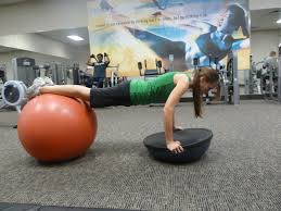 Balance Ball Chair With Arms Bosu Ball K D Rausin