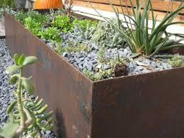 steel planter box solidaria garden