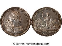 chambre de commerce rouen chambre de commerce rouen jeton argent 1721 vente monnaie jetons