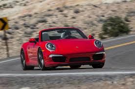 porsche 911 v8 drop top sibling rivalry 2014 audi r8 v8 2013 porsche 911 cs on