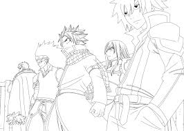 fairy tail 292 lineart by cursedicedragon on deviantart