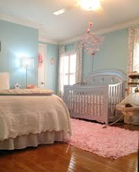 london u0027s lovely aqua pink and grey nursery baby girls girls