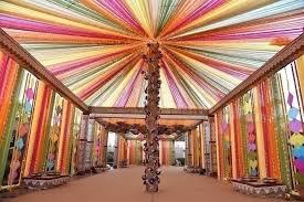 indian wedding decoration ideas rainbow themes to brighten up your indian wedding celebration