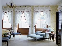 Cornice Window Treatments Awesome White Nuance Cornice Window Treatment Bay Window With Blue