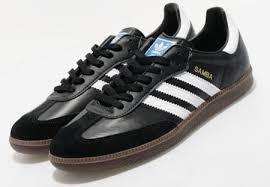 black samba adidas samba reissue in black or white modculture