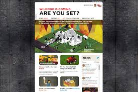 Wildfire Website Design by Prepare To Evacuate Firewise Madera County