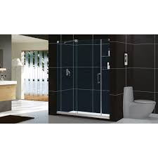 dreamline mirage 56 60 in width frameless sliding shower door 3