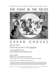 the fight in the fields study guide united farm workers farmworker